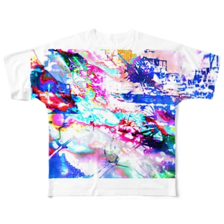 稲妻 Full graphic T-shirts