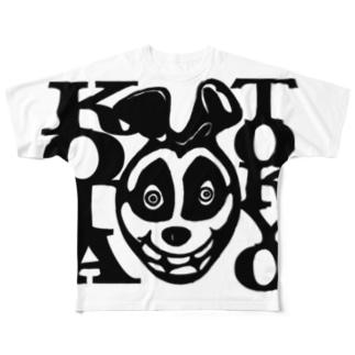 KOTAくん Full graphic T-shirts