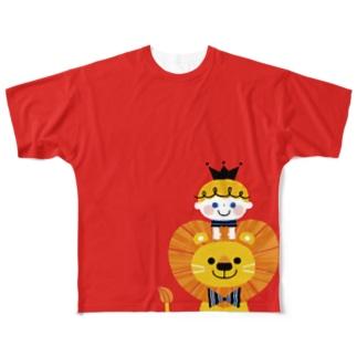 LION BOY Full graphic T-shirts