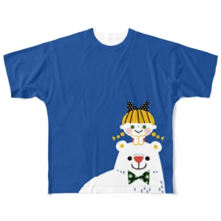 SHIROKUMA GIRL Full graphic T-shirts