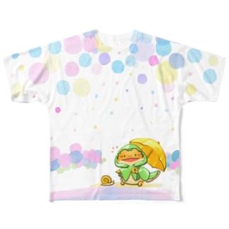 かたむつり! Full graphic T-shirts