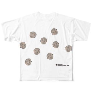 おじいちゃん Full graphic T-shirts