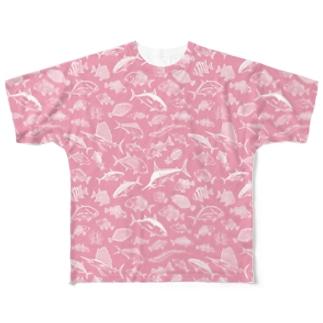 SALTWATER FISH_WP_FG Full graphic T-shirts