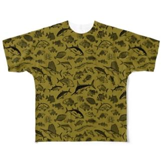 SALTWATER FISH_KO_FG Full graphic T-shirts