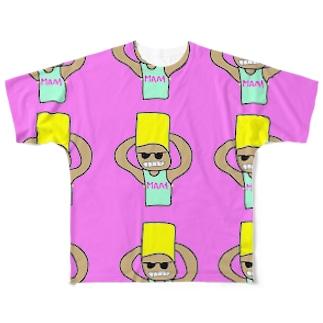 MAA4大量発生 Full graphic T-shirts