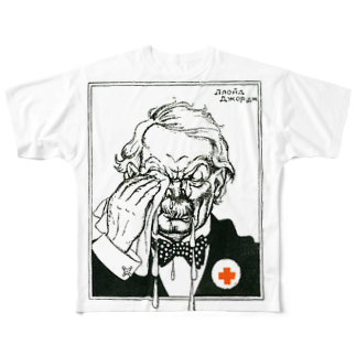 tapirusのSoviet Russian Cartoon & Poster Collection Full graphic T-shirts