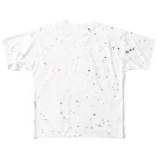 しゅわしゅわなきもち Full graphic T-shirts