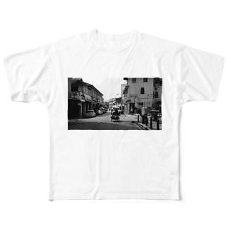 東南アジアまち歩き〜ペナンの物売り Full graphic T-shirts