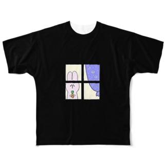 おるすばん 3 Full graphic T-shirts