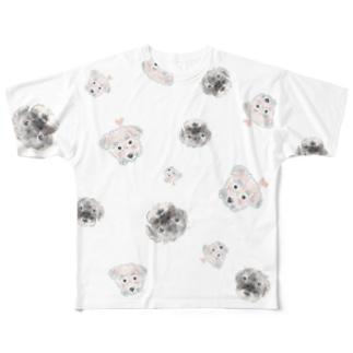テスト中 Full graphic T-shirts