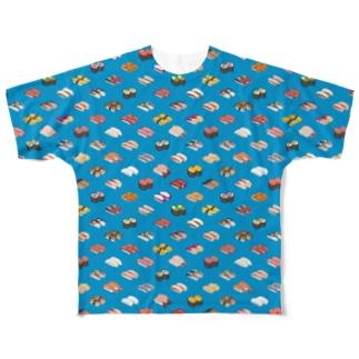 SUSHI_CB_FGT Full graphic T-shirts