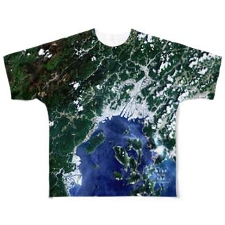 広島県 広島市 Tシャツ 両面 Full graphic T-shirts