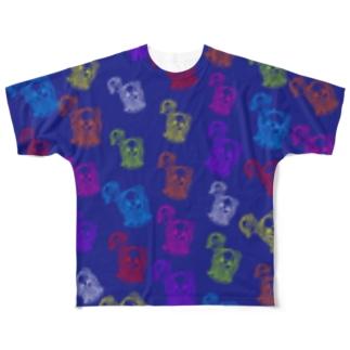 10周年記念Tシャツ💙ミハビエ💙 Full graphic T-shirts