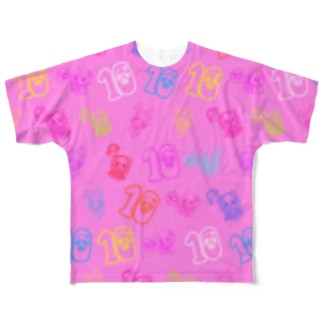 10周年記念Tシャツ💝フルグラ💝 Full graphic T-shirts