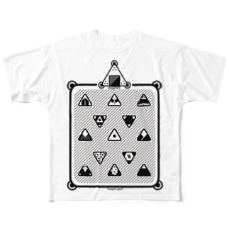 オニギリィィィイ Full graphic T-shirts