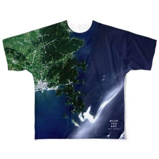 宮城県 牡鹿郡 Tシャツ 両面 Full graphic T-shirts