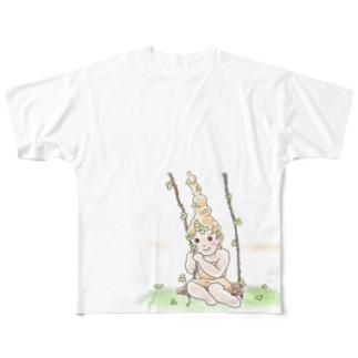 願い事 フルグラフィックTシャツ
