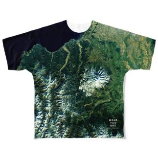 青森県 西津軽郡 Tシャツ 両面 Full graphic T-shirts