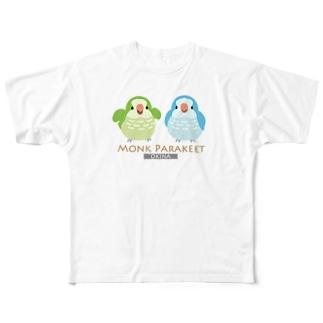 オキナインコ Full graphic T-shirts