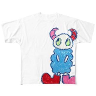 a:kumoシリーズ Full graphic T-shirts