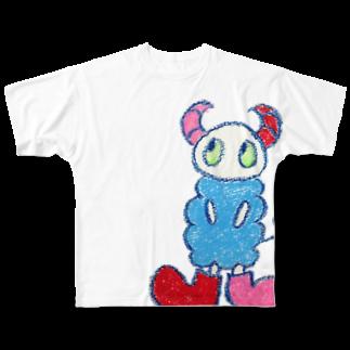space a:kumoのa:kumoシリーズフルグラフィックTシャツ