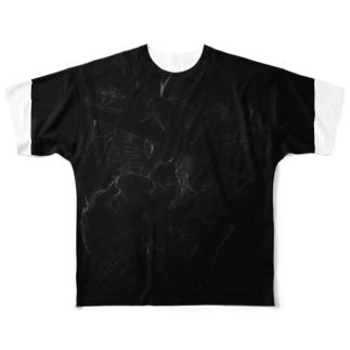 夏服  心臓Tシャツ Full graphic T-shirts