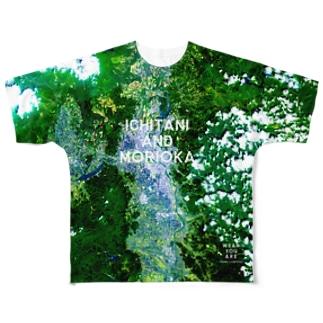 岩手県 盛岡市 Tシャツ 両面 Full graphic T-shirts