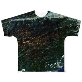 徳島県 那賀郡 Tシャツ 両面 Full graphic T-shirts