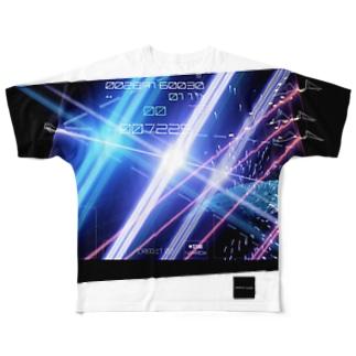 崩壊のダンガンウォール(ズレグラ) Full graphic T-shirts