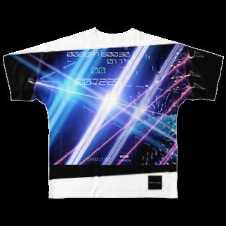 QUIZCAT GAMESの崩壊のダンガンウォール(ズレグラ) Full graphic T-shirts