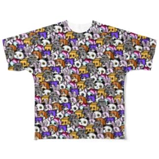 ANIMALs 8th Full Graphic T-Shirt