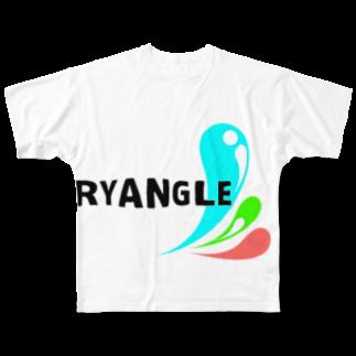 ぷらんく-triangle-のTryangleTシャツ SummerVer. Full graphic T-shirts