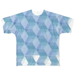 さっかくきかがく Full graphic T-shirts