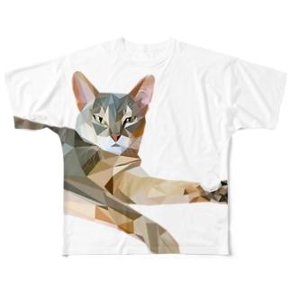 お手玉RUNA Full graphic T-shirts