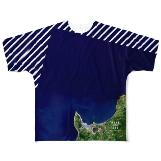 北海道 稚内市 Full graphic T-shirts