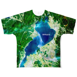 滋賀県 高島市 Full graphic T-shirts