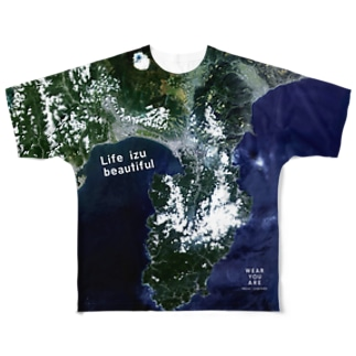 WEAR YOU AREの静岡県 沼津市 Full graphic T-shirts
