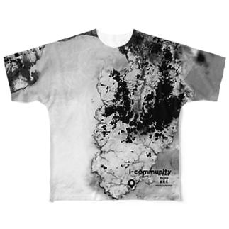 静岡県 賀茂郡 Full graphic T-shirts