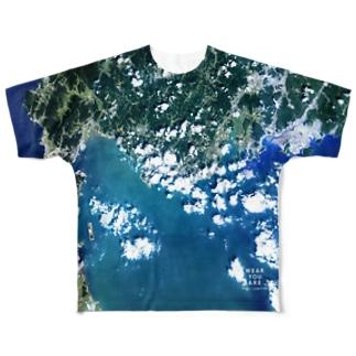 山口県 宇部市 Full graphic T-shirts