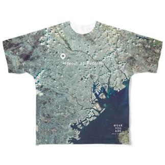 東京都 渋谷区 Full graphic T-shirts