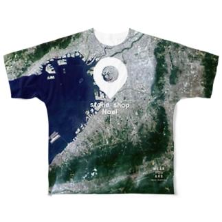 大阪府 堺市 Full graphic T-shirts
