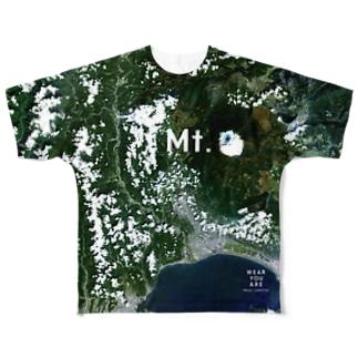 静岡県 富士宮市 Full graphic T-shirts