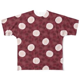 ぜんざいTシャツ Full graphic T-shirts