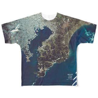 千葉県 君津市 Full graphic T-shirts