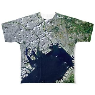 千葉県 市川市 Full graphic T-shirts