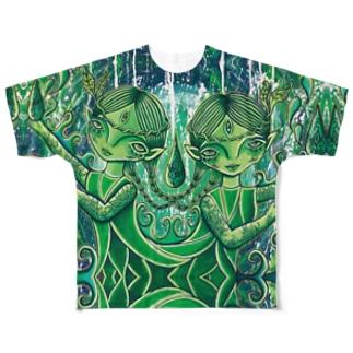 〜風の唄全面Tシャツ〜 Full graphic T-shirts