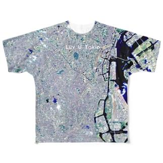 東京都 品川区 Full graphic T-shirts