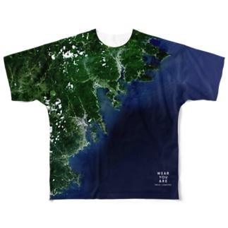 岩手県 陸前高田市 Full graphic T-shirts