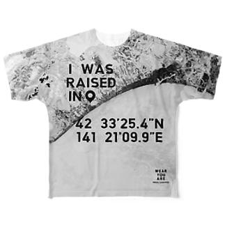 北海道 白老郡 Full graphic T-shirts