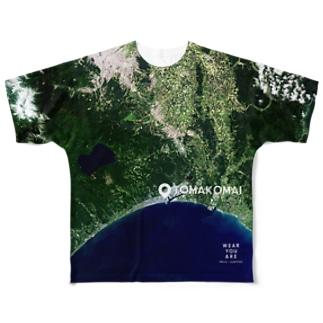 北海道 苫小牧市 Full graphic T-shirts
